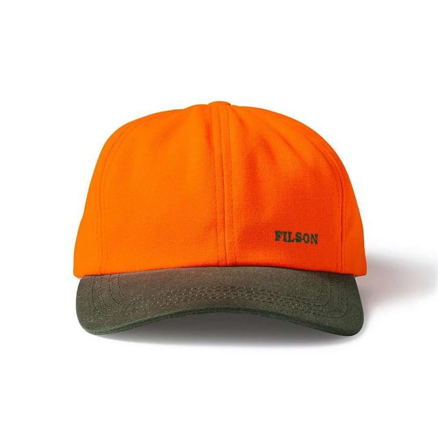 Filson - Blaze Orange Shelter Cap with Small Logo