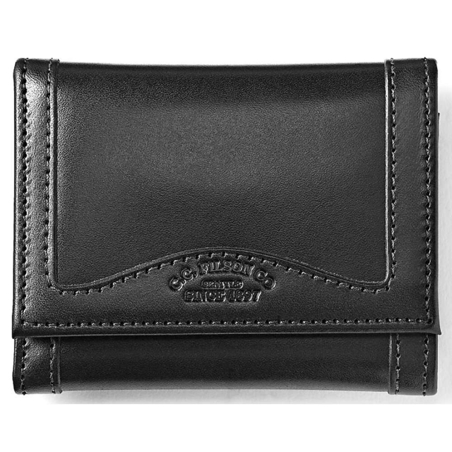 Filson - Leather Tri-Fold Wallet