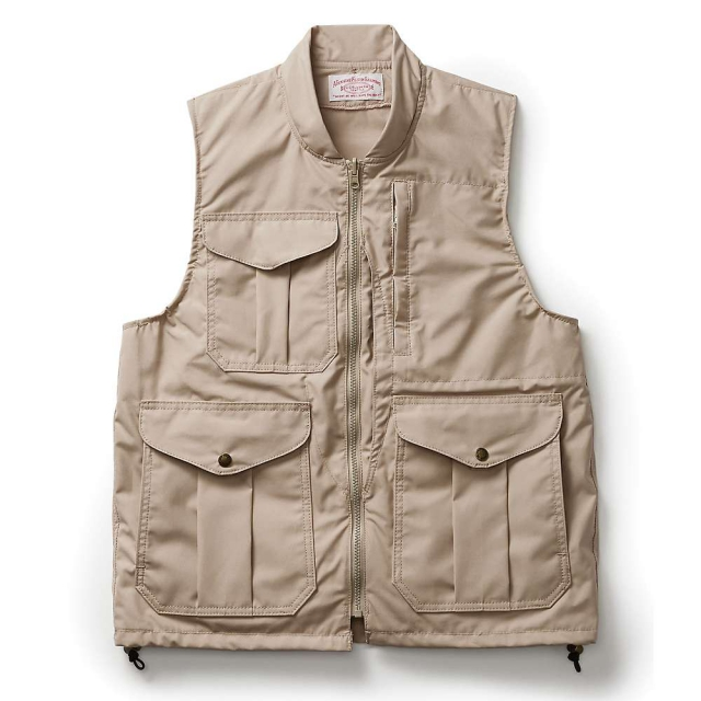 Filson - Men's Alaska Fit Cover Cloth Travel Vest