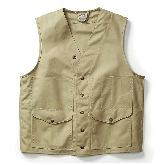 Filson - Men's Alaska Fit Dry Tin Cloth Cruiser Vest