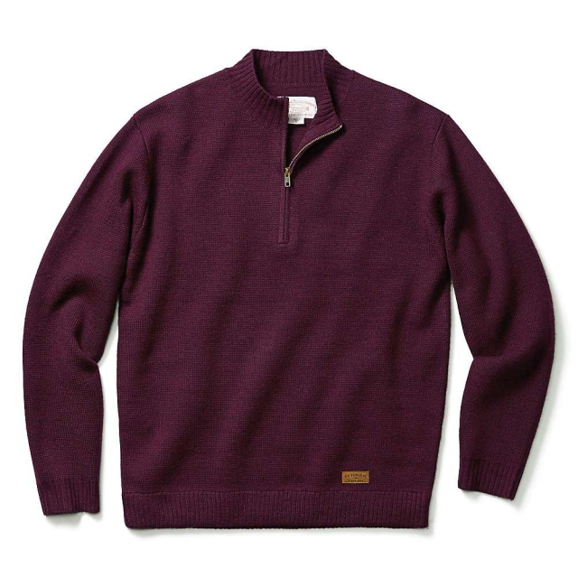 Filson - Men's Alaska Fit Midweight Half Zip Sweater