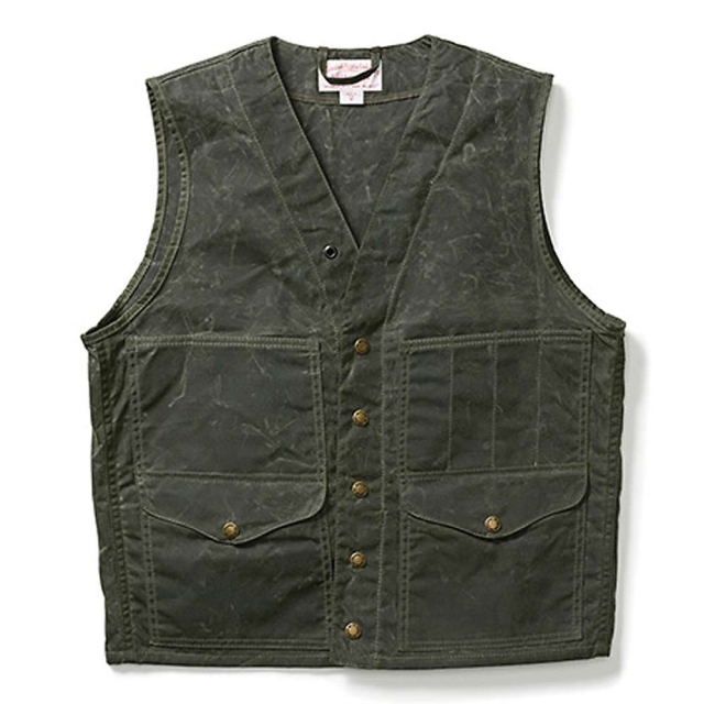 Filson - Men's Alaska Fit Soy Wax Cruiser Vest