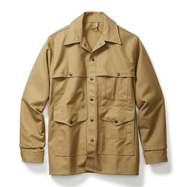 Filson - Men's Alaska Fit Tin Cloth Dry Finish Cruiser Jacket