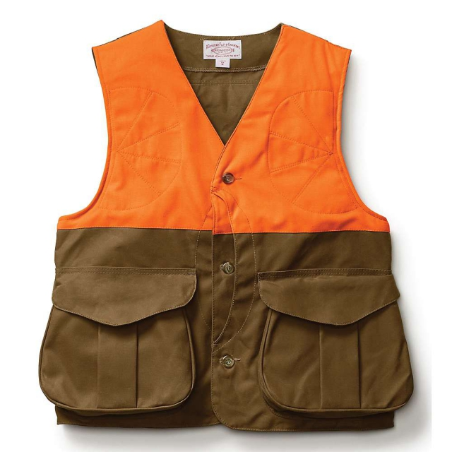 Filson - Men's Alaska Fit Tin Cloth Upland Frontloader Hunting Vest