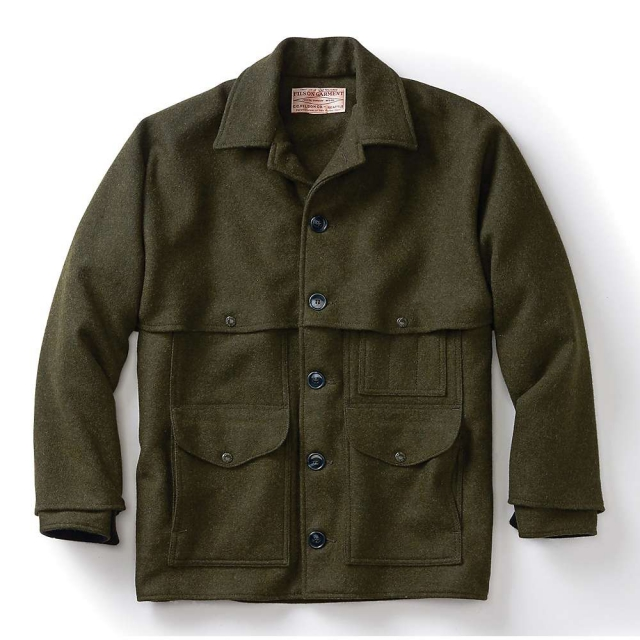 Filson - Men's Alaska Fit Wool Double Mackinaw Cruiser Jacket