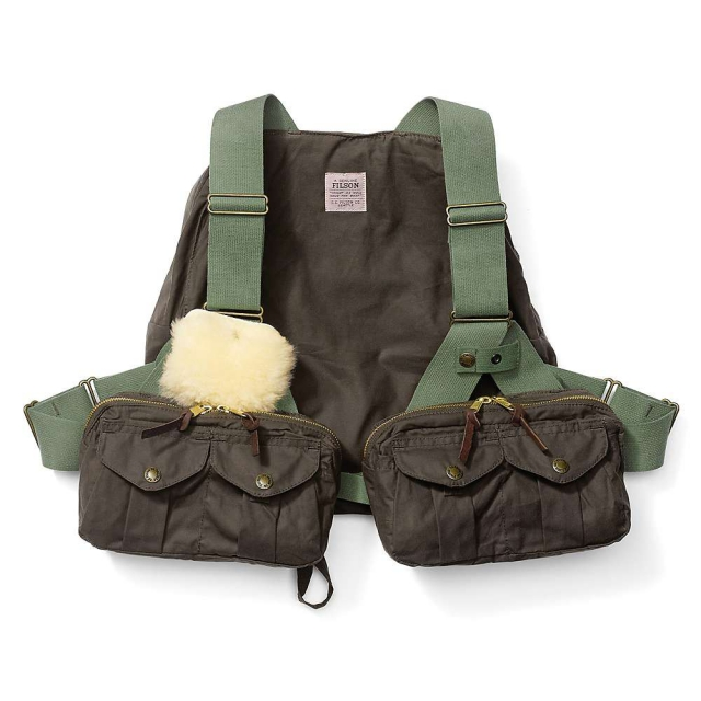 Filson - Men's Cover Cloth Foul Weather Fly Fishing Vest
