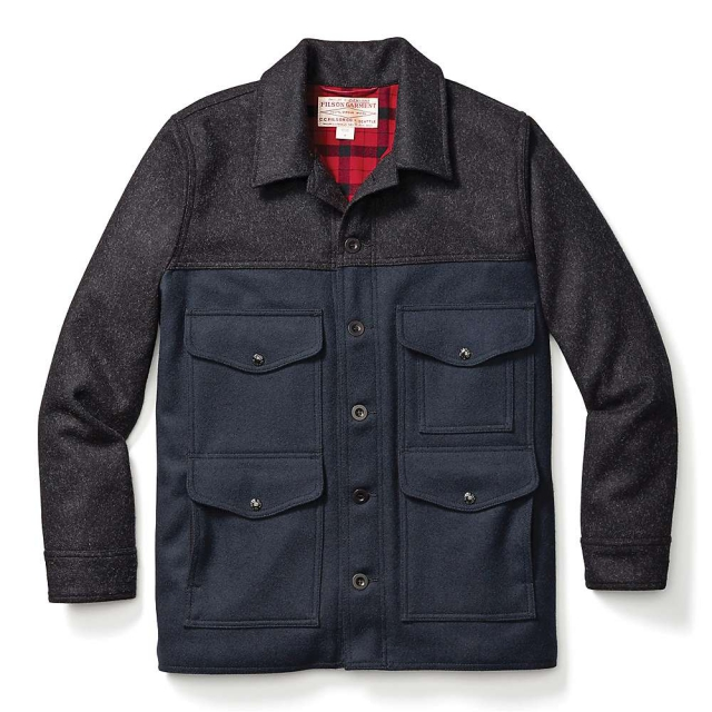 Filson - Men's Lined Wool Seattle Cruiser Jacket