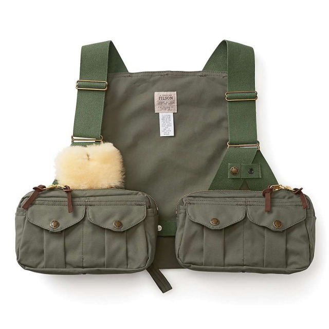 Filson - Men's Shelter Cloth Fly Fishing Strap Vest