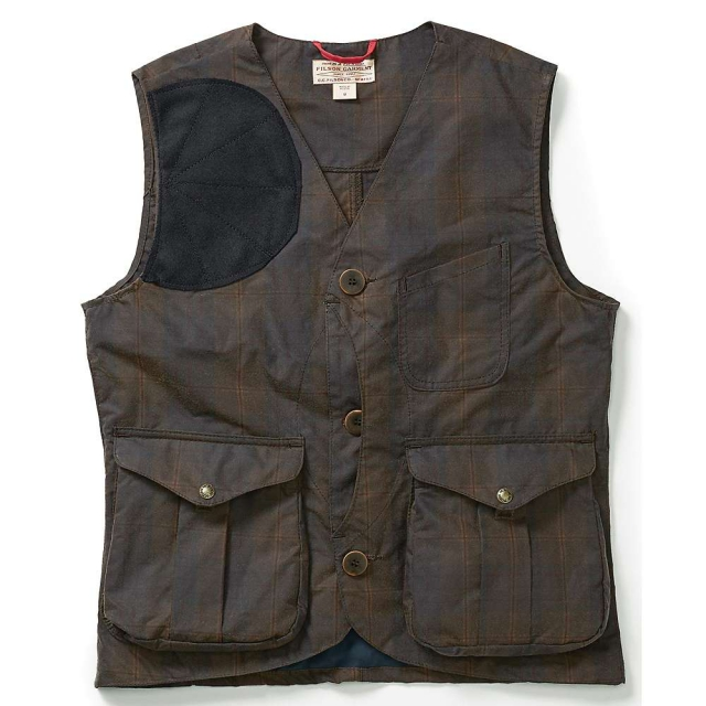 Filson - Men's Waxed Tartan Guide Vest