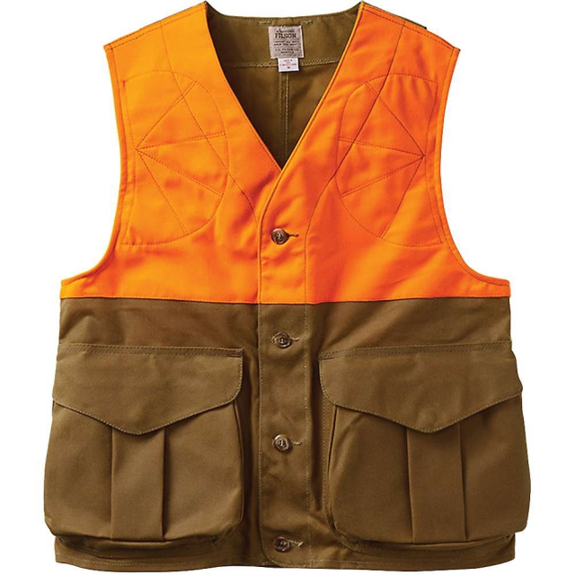 Filson - Men's Upland Hunting Vest Blaze