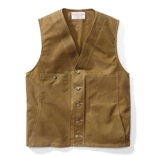 Filson - Men's Oil Tin Cloth Vest