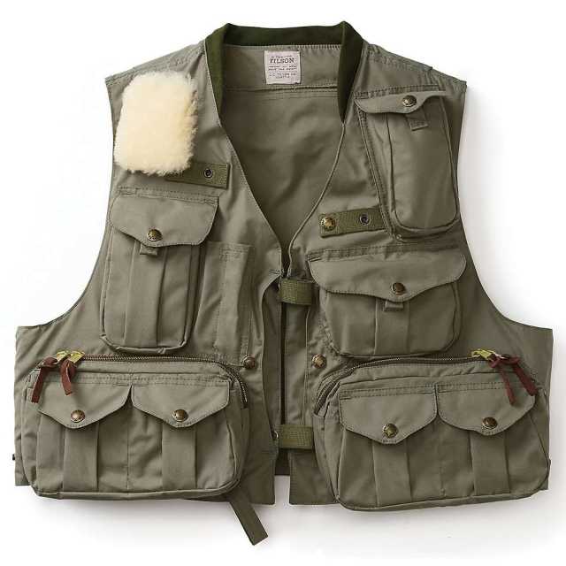 Filson - Men's Cover Cloth Fly Fishing Guide Vest