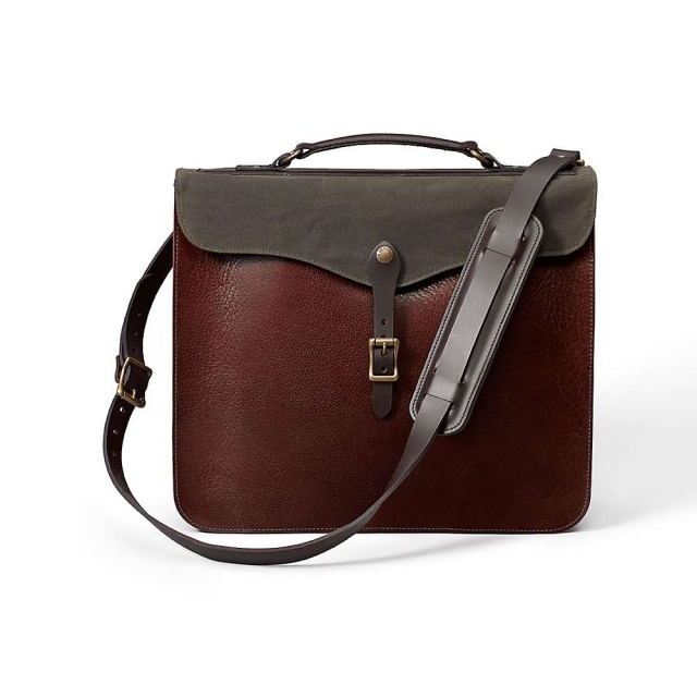 Filson - Leather Brief Bag