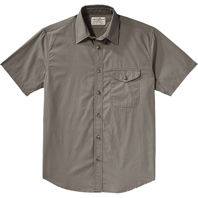 Filson - Men's Alaska Fit Feather Cloth SS Shirt