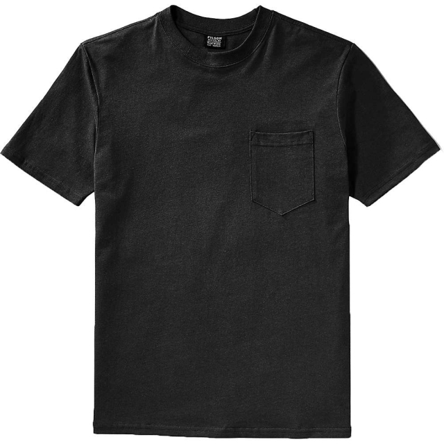 Filson - Men's Short Sleeve Outfitter Solid One-Pocket T-Shirt