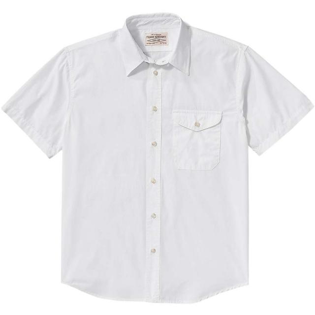 Filson - Men's Alaska Fit Feather Cloth SS Shirt