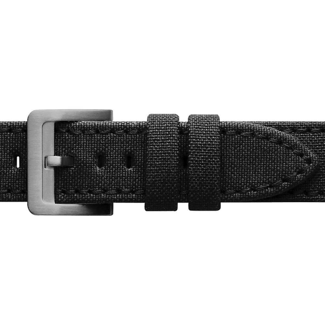 Filson - Dry Tin Cloth / Bridle Leather Extra Long Watch Strap