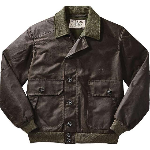 Filson - Men's Ranger Oil Cloth Bomber