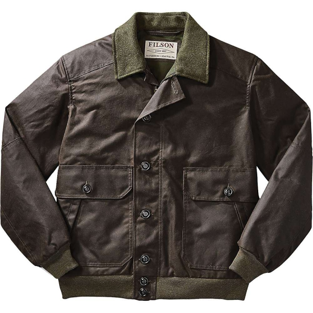 Filson - Men's Ranger Oil Cloth Bomber