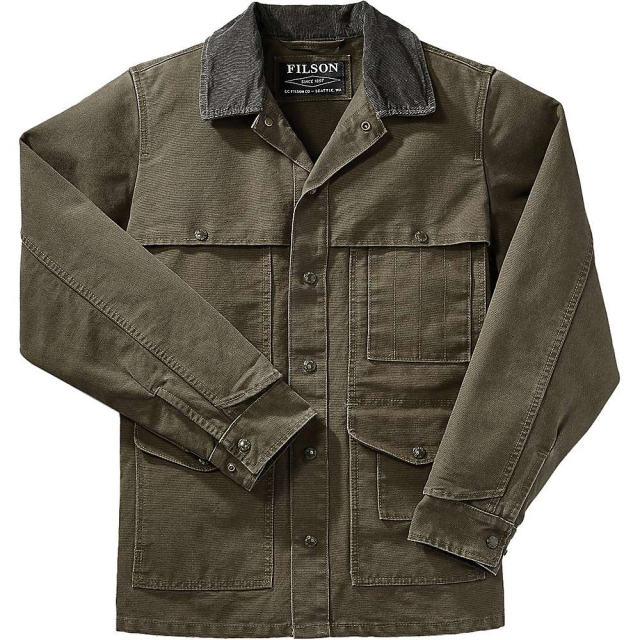 Filson - Men's Stonewashed Canvas Cruiser Jacket