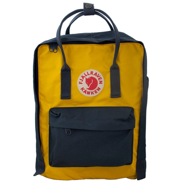 Fjallraven - Kanken Backpack - Navy Yellow