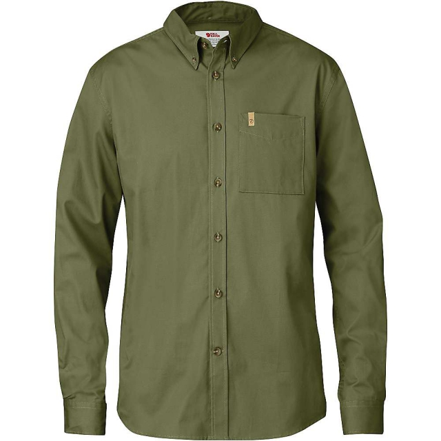 Fjallraven - Men's Ovik Solid Twill LS Shirt