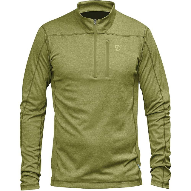 Fjallraven - Men's Abisko Vent Zip LS T-Shirt