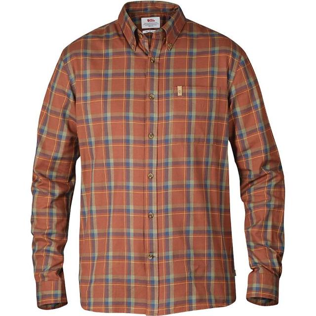 Fjallraven - Men's Ovik Flannel Long Sleeve Shirt