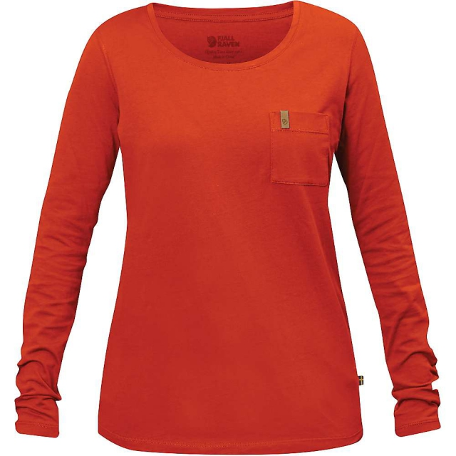Fjallraven - Women's Ovik Pocket LS T-Shirt