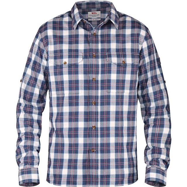 Fjallraven - Men's Singi Flannel SL Shirt