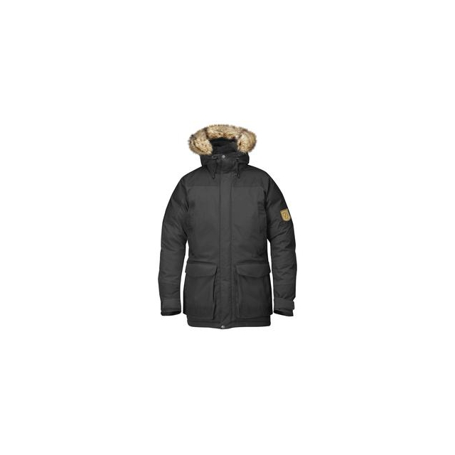 Fjallraven - Kyl Parka Men's, Dark Grey/Black, L