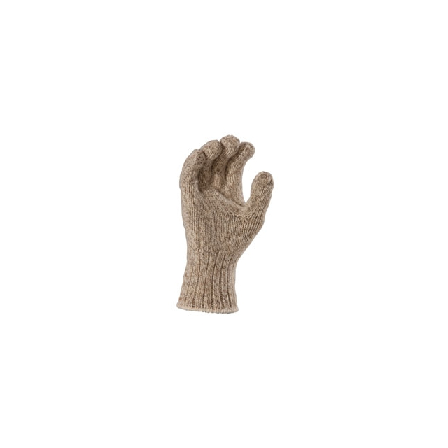 Fox River - Ragg Wool Gloves - Brown Tweed In Size