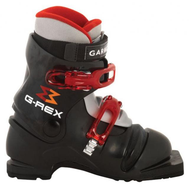 Garmont - - G-Rex Kids Telemark Ski Boot - 19.5 - Black Grey