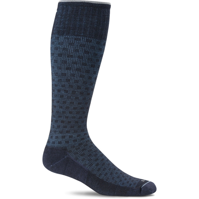 Goodhew - Shadow Box Compression Sock Mens - Navy L/XL