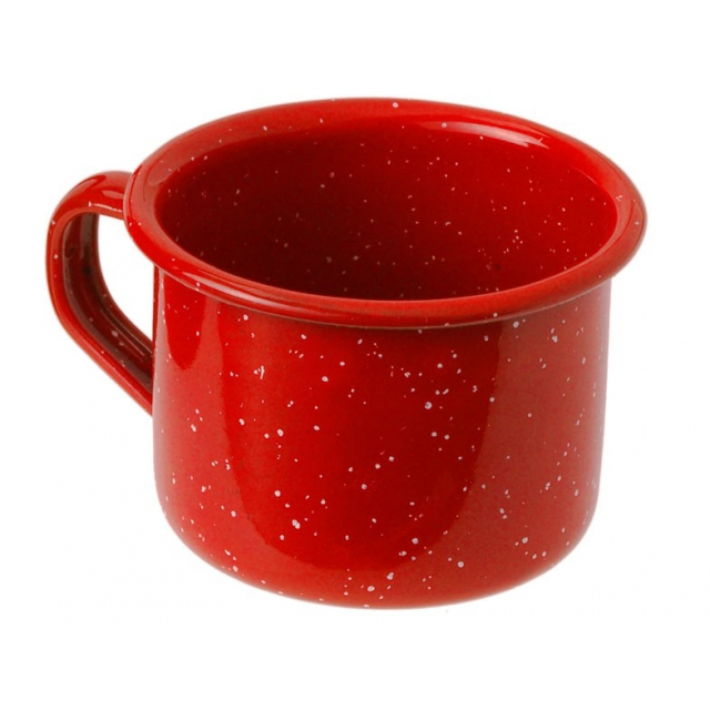 GSI Outdoors - Enamelware 4 oz Espresso Cup - Red Red