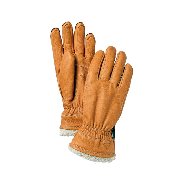 Hestra - Deerskin Primaloft Gloves: Cork, 6 (Extra Small)