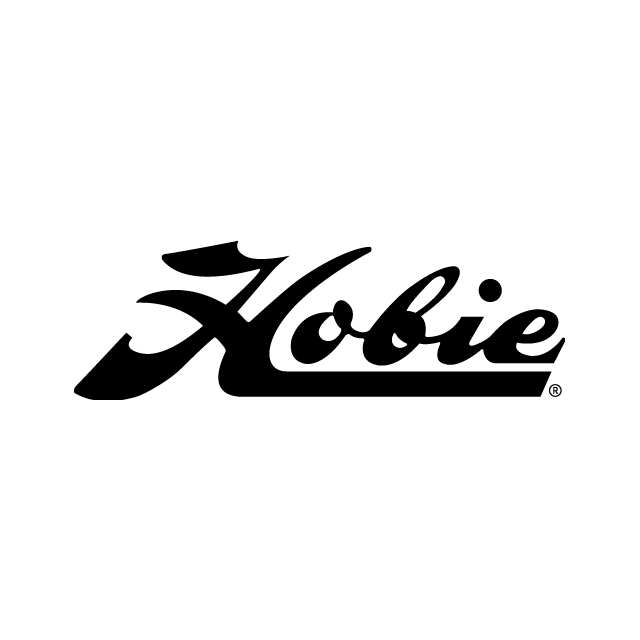 "Hobie - Decal """" Script Black"