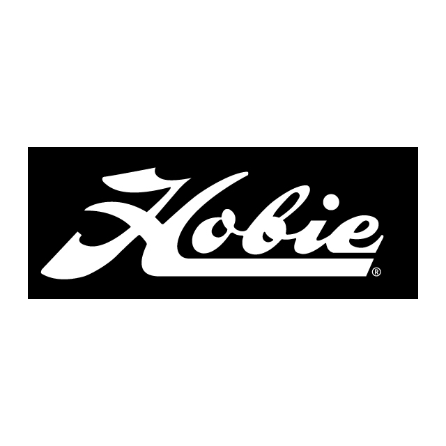 """Hobie - Decal """""""" Script Wht"""