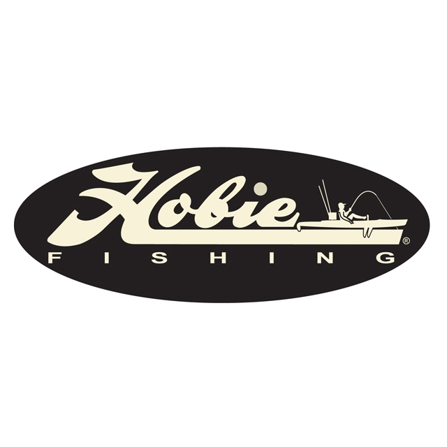 "Hobie - Decal, 12""  Fishing White"