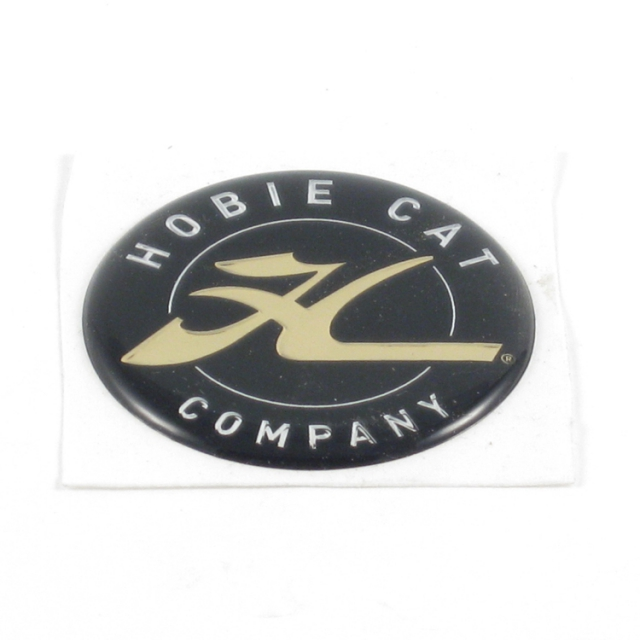 Hobie - Decal Dome, Hcc Gold 1.75""
