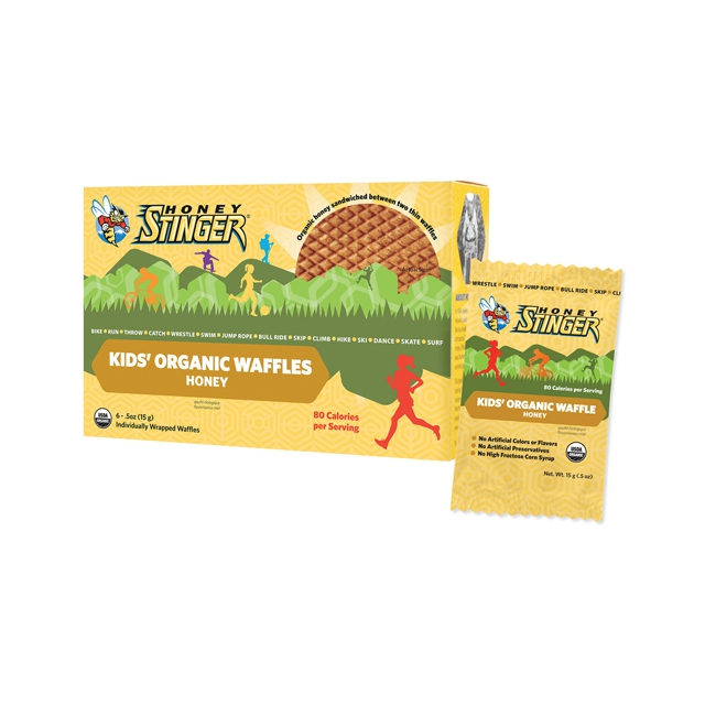 Honey Stinger - Organic Kid's Waffle 6 Pack: Honey