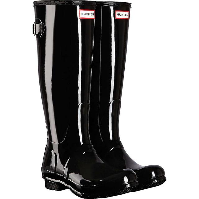 Hunter - Women's Original Back Adjustable Gloss Boot