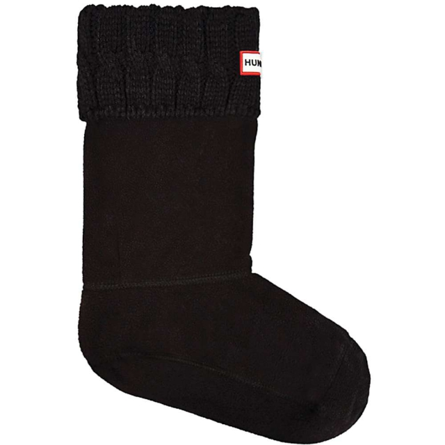 Hunter - Kids' 6 Stitch Cable Boot Sock