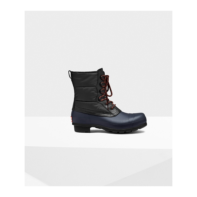 Hunter - - Original Quilted Lace-Up Boots