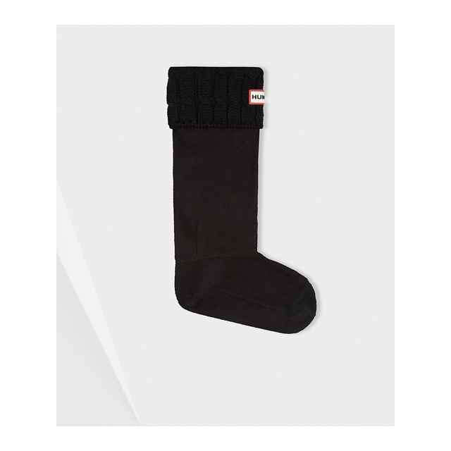 Hunter - - Cable Boot Sock