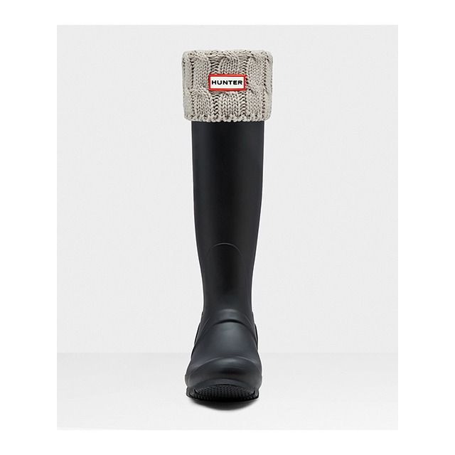 Hunter - - 6 Stitch Cable Tall Boot Sock