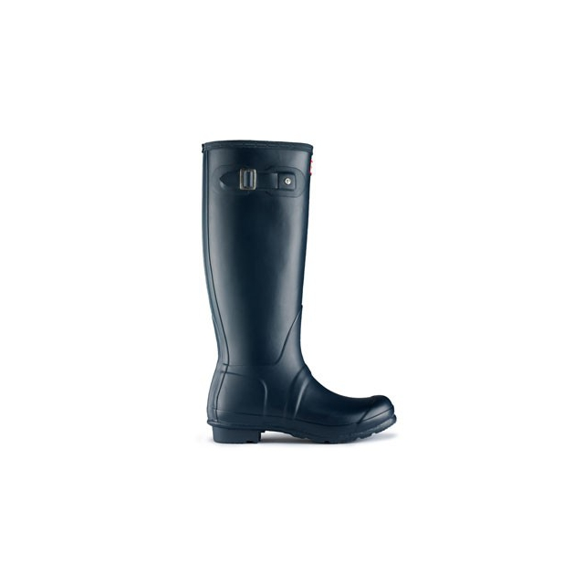 Hunter - Hunter Original Tall Rain Boot - Women's-Black-10