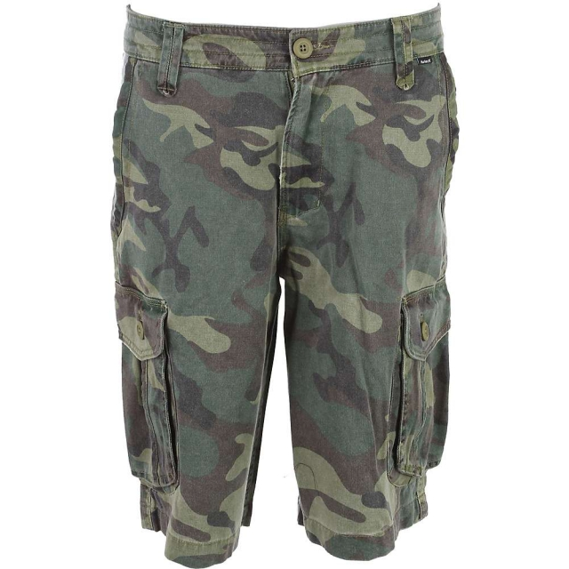 Hurley - One & Only Cargo Shorts Sequoia - Men's