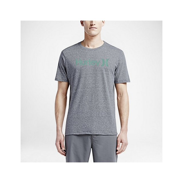 Hurley - Mens One & Only Dri-FIT Shirt - Closeout Heather Graphite Large