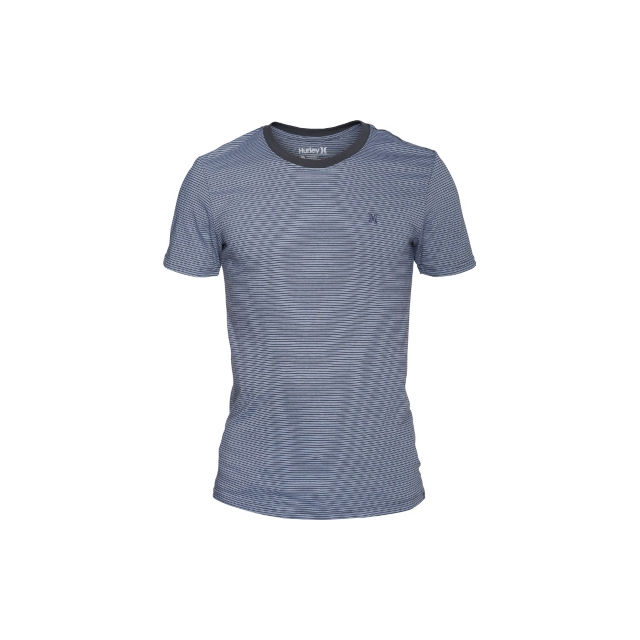 Hurley - Hurley Staple Olson Stripe Crew Mens Premium Fit T-Shirt